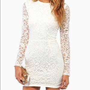 Tobi My Lace Or Yours Lace Bodycon Dress